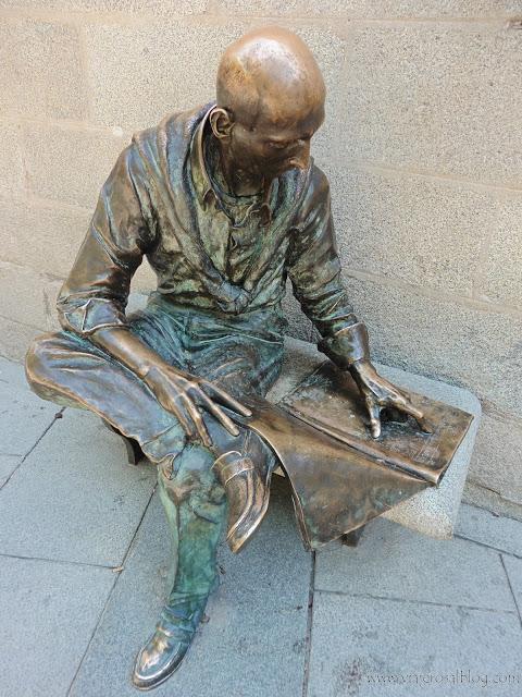 Estatuas urbanas de Madrid.