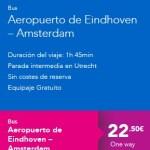 Terravision_EindhovenAmsterdam. ViajerosAlBlog.com