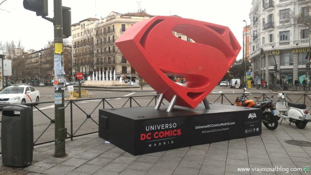 Exposiciones Universo DC Comics Madrid - Batman V Superman. ViajerosAlBlog.com
