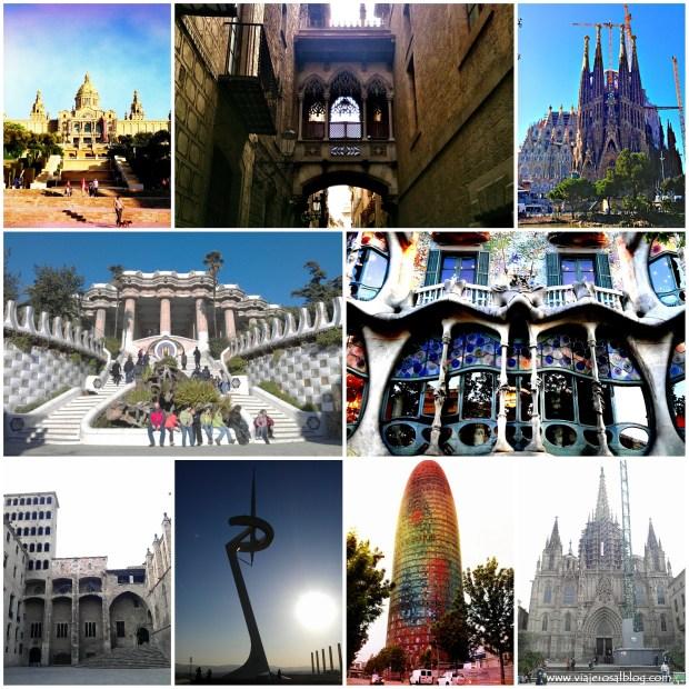 Barcelona_Collage_ViajerosAlBlog