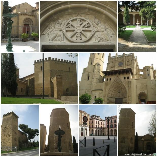 Huesca_Collage_ViajerosAlBlog