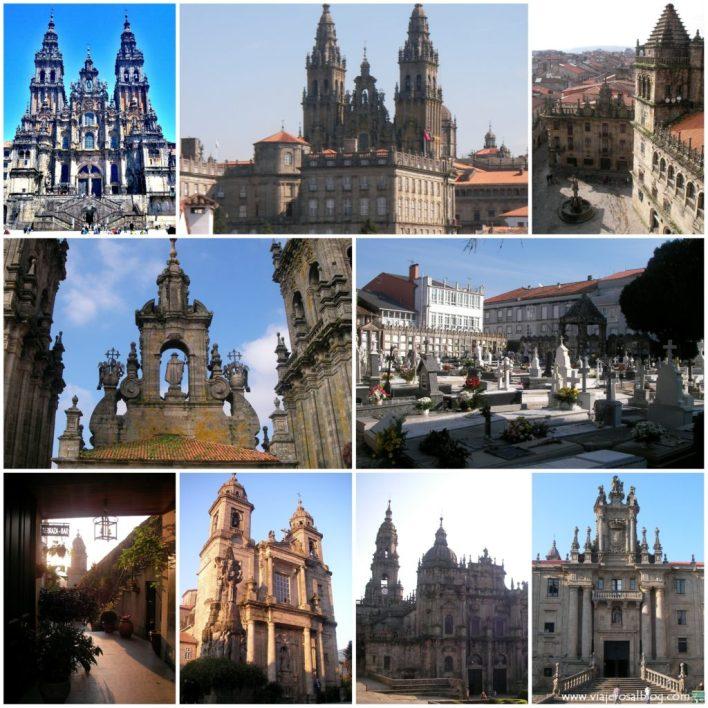 Santiago_de_Compostela_Collage_ViajerosAlBlog