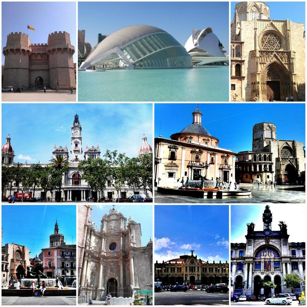 Valencia_Collage_ViajerosAlBlog