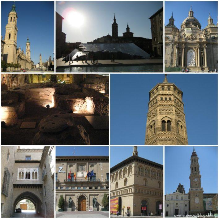 Zaragoza_Collage_ViajerosAlBlog