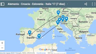Introducción del viaje a Alemania, Croacia, Eslovenia e Italia: información, planning y presupuesto.