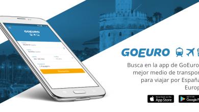App de GoEuro: compara y reserva tu transporte en Europa fácil, rápido y ahorrando.