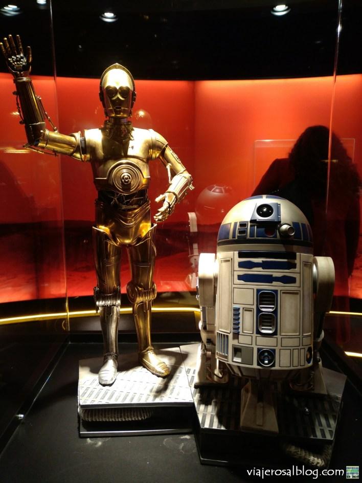 Exposición Star Wars La Saga de las Galaxias. Centro Comercial Madrid Xanadú, Móstoles.