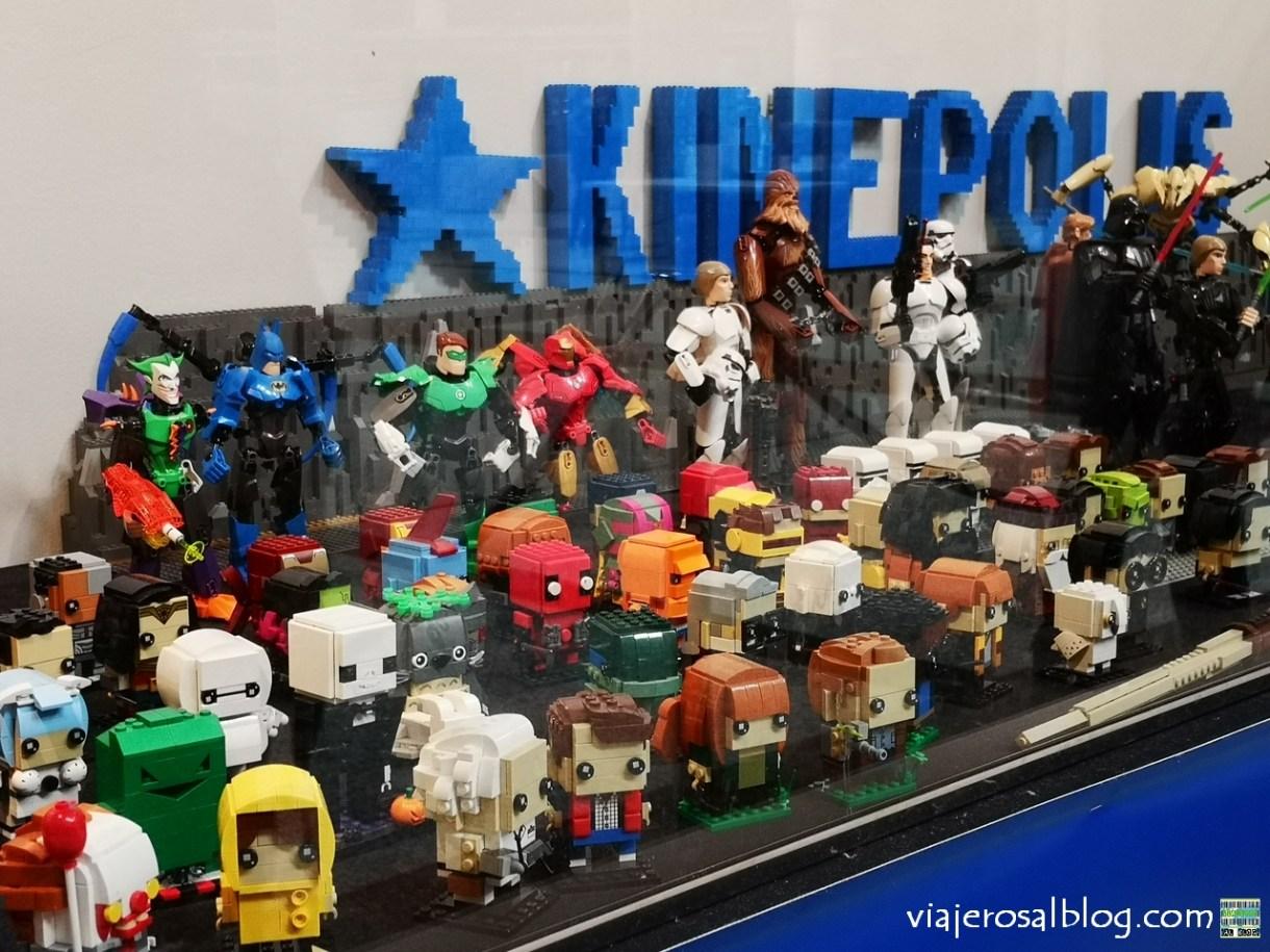 Exposición Construcciones de Lego y el Cine. Ayuntamiento de Alcobendas, Madrid.