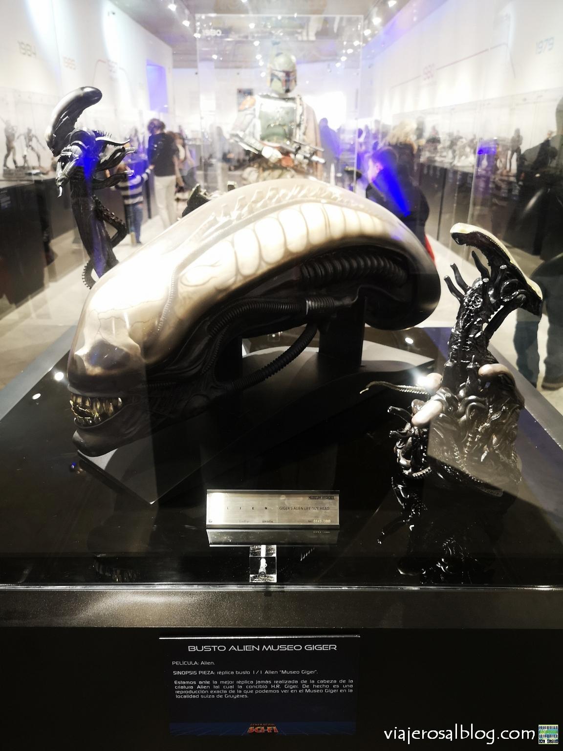 Exposición Generación Sci-Fi. Centro Comercial Moda Shopping, Madrid.