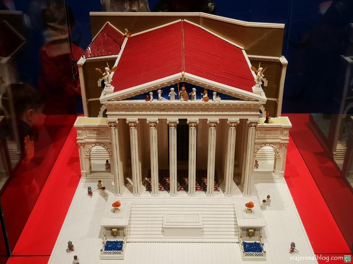 Exposición I Love LEGO. Palacio de Gaviria, Madrid.