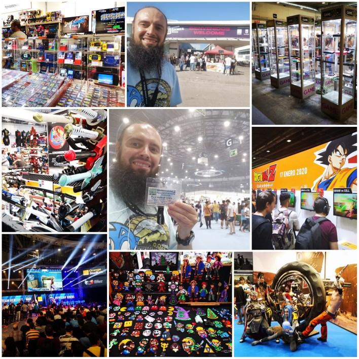 Feria del videojuego Madrid Games Week 2019. Parte 2. eSports, RV, marcas, juegos y mucho más.
