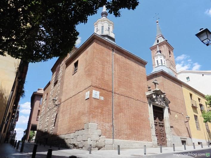 Iglesia de San Nicolás de los Servitas (Madrid, España). La iglesia más antigua de Madrid.
