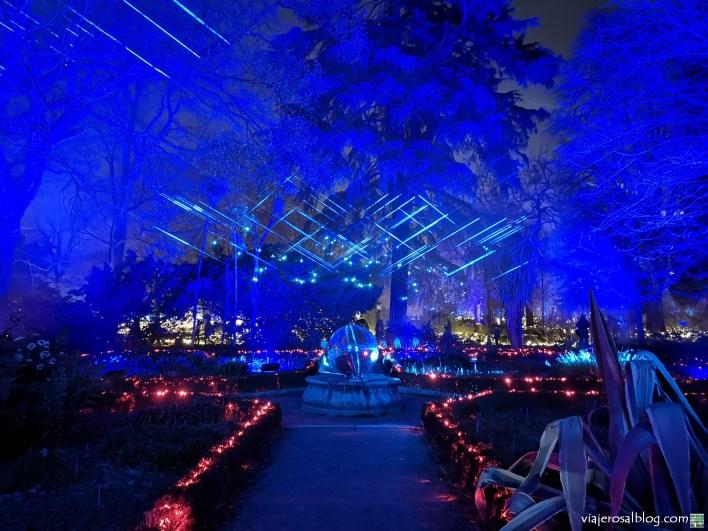 Espectáculo Naturaleza Encendida. Real Jardín Botánico, Madrid. ¡Incluye vídeo!