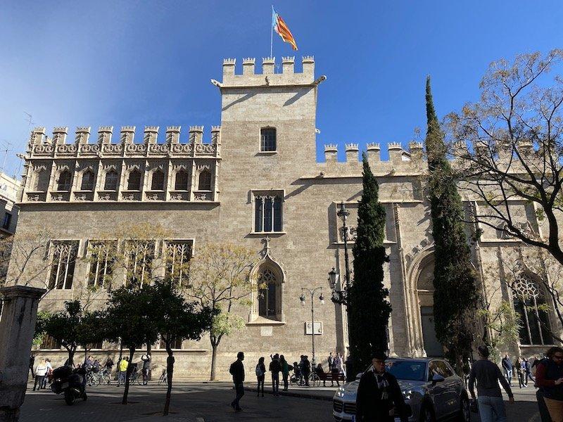 Visita a la Ciutat Vella de Valencia: Lonja de la Seda