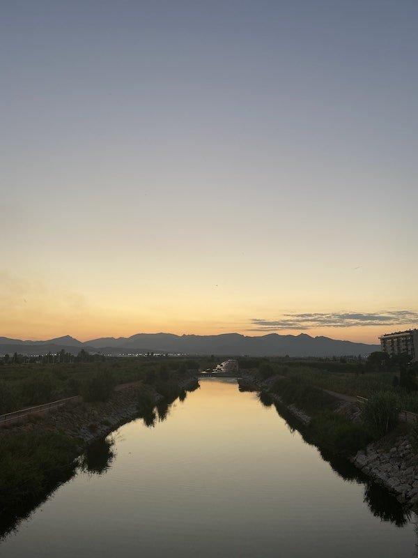 río Belcaire y Sierra de Espadán