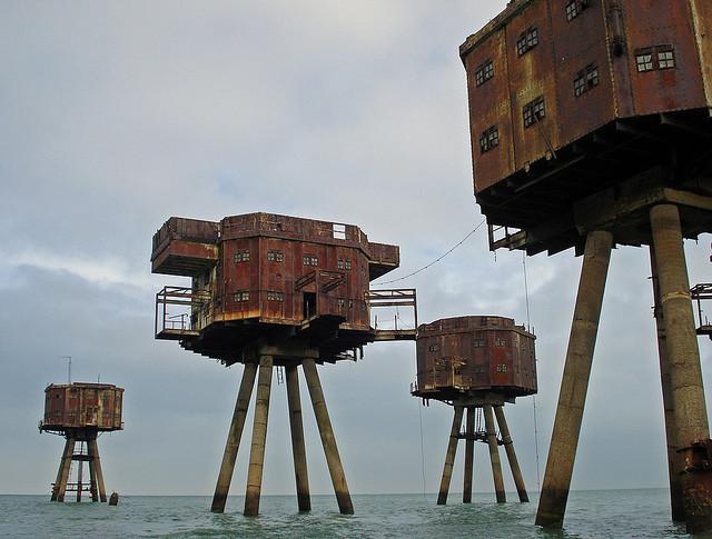 Fortalezas marinas Maunsell - 01 - Crédito usuario de Flickr Diamond Geezer