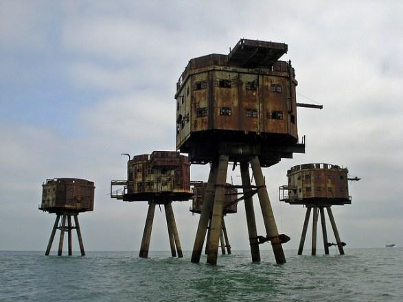 Fortalezas marinas Maunsell - 07