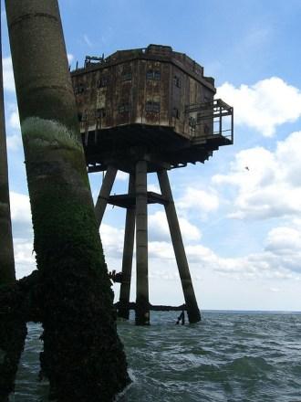 Fortalezas marinas Maunsell - 22