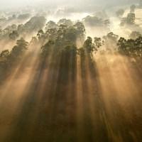 Rayos crepusculares - Increíbles rayos del sol captados con la cámara