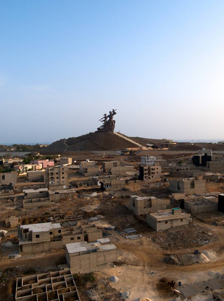 Monumento al Renacimiento Africano - Dakar, Senegal, África - 17