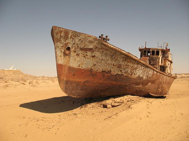 Moynaq - Boot uit Kazachstan