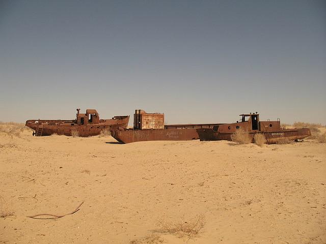 Moynaq - Vissersboten
