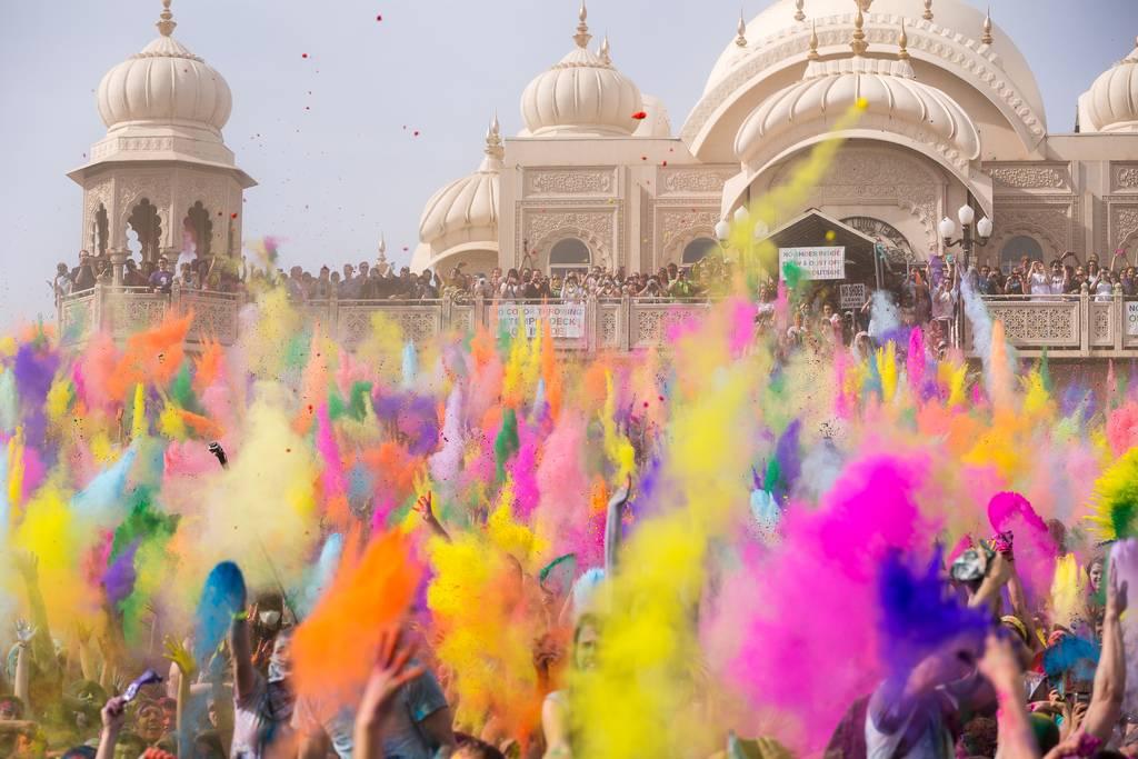 Holi celebración indú