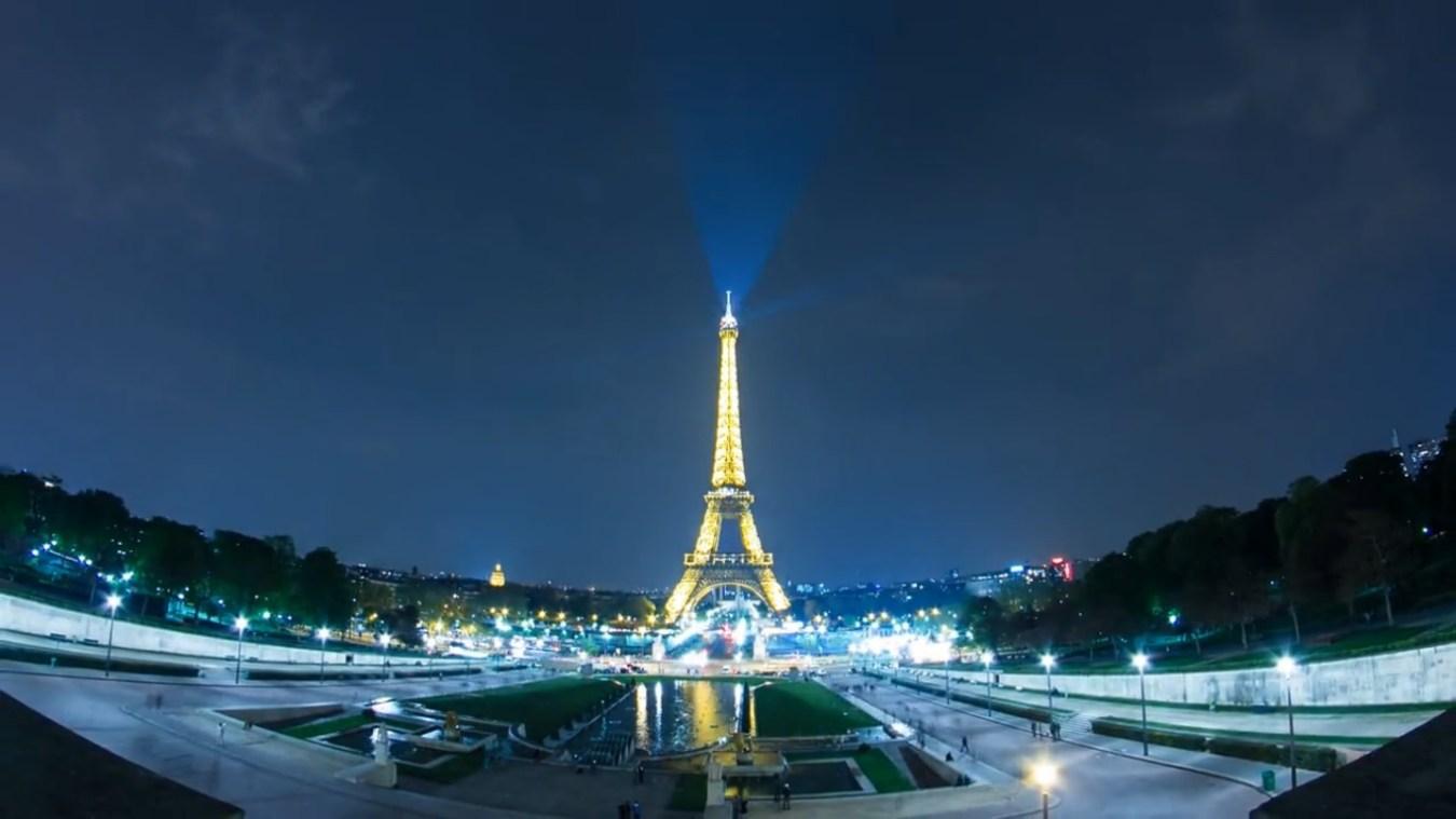 Hyperlapse de París