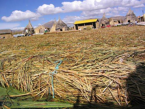 Las islas flotantes del lago Titicaca