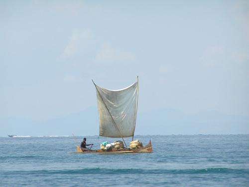 Piragua en Madagascar
