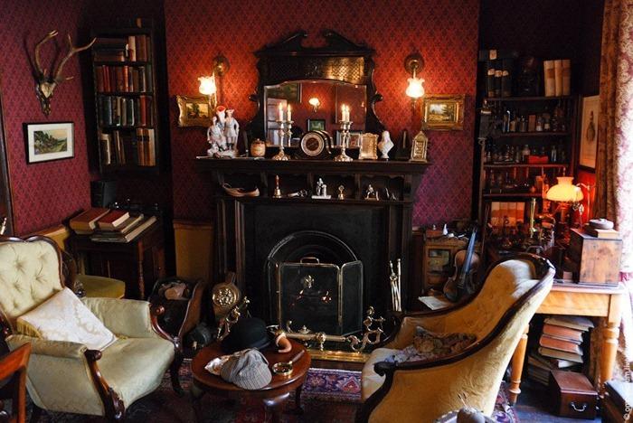 Sala de estar de Sherlock Holmes