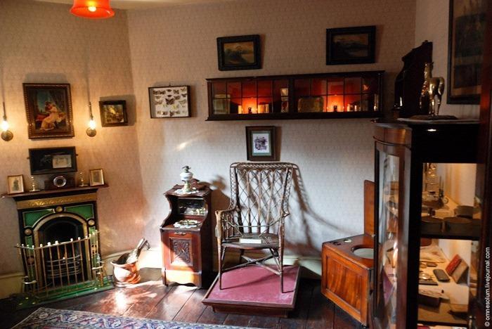 La habitación del Dr. Watson