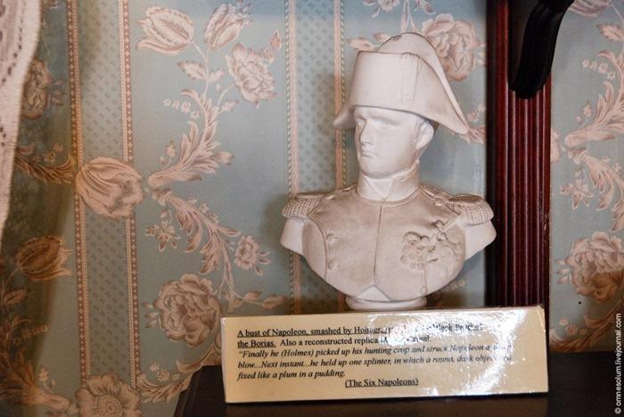 """Busto de Napoleón de la historia """"Seis Napoleones"""""""