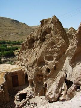 Warm People Living in Beautiful Rock Houses-Kandovan Village