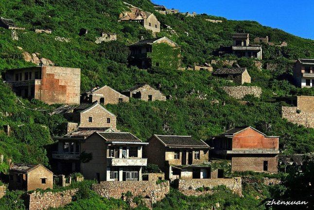 An Abandoned Fishing Village on Gouqi Island