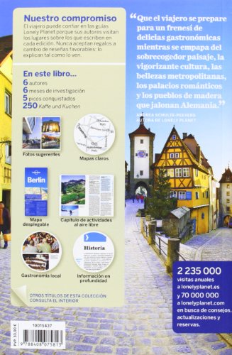Lonely Planet Alemania (Travel Guide) (Spanish Edition) 1