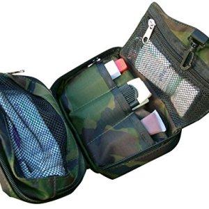 Bushcraft Aqua - Bolsa de aseo (40 x 18 x 2cm), diseño de camuflaje 4
