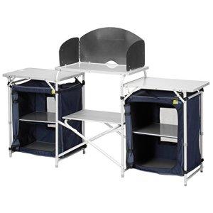 CAMPART Travel KI-0732 - Cocina de camping, color azul 3