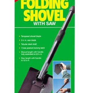 Coghlan's Folding Shovel with Saw 4