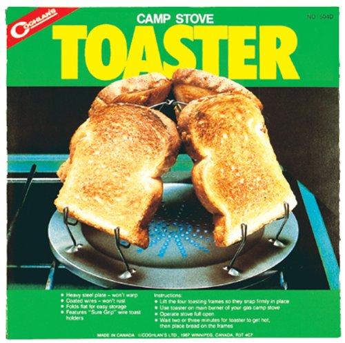 Coughlan's Camp Stove Toaster - Hornillo portátil para acampada, color plateado 1