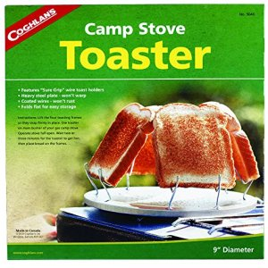 Coughlan's Camp Stove Toaster - Hornillo portátil para acampada, color plateado 5