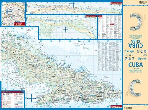 Laminated Cuba Map by Borch (English Edition) 1