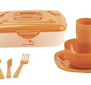Easy Camp Picnic box for 4 Person, Orange, 7