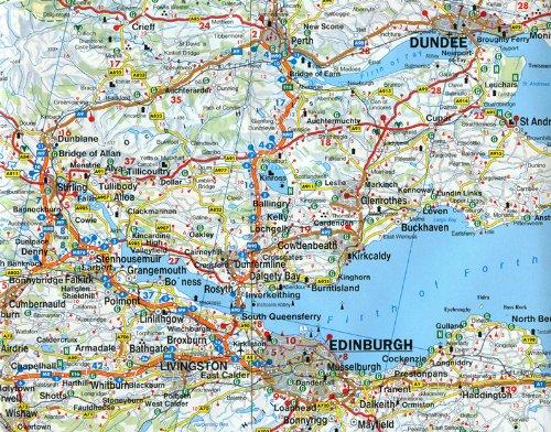 Scotland North England Road Maps Viajeros Del Misterio