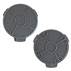 First4spares Filtros carbono redondo para campanas CATA (PAck de 2) 4