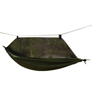 Travel Outdoor Camping Tent Hanging Hammock Sleeping Bed w/ Sack 5