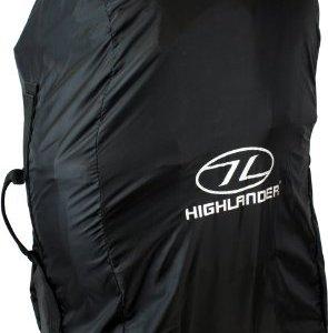 Highlander - Funda para mochila tamaño medio, color negro, 78 x 45 x 4 cm, ACC006 11