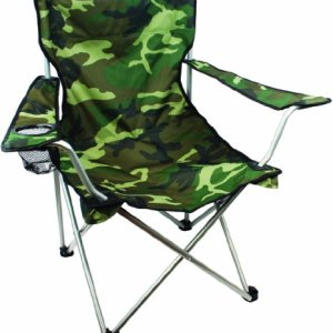 Highlander Outdoor Moray Camp Chair with Arms, Camo 10