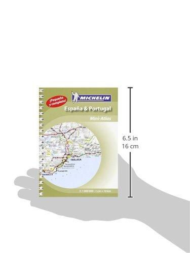 Espana & Portugal : atlas de carreteras 2015 ; 1/1 000 000 ; Edition bilingue espagnol - portugais [ Spain and Portugal mini atlas in Spanish and ... Tourist and Motoring Atlas) (Spanish Edition) 2