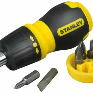 Stanley - Multibit Stubby Screwdriver With Bits 6